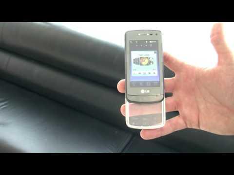 LG GD900 Crystal Demo