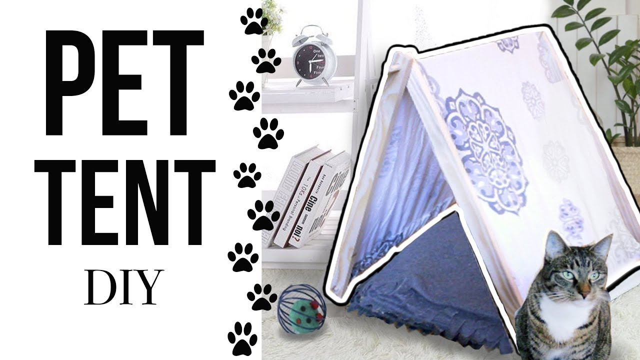 Download No-sew Pet Tent - EASY DIY