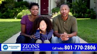 Home Security Systems in Utah - ADT Authorized Dealer - Zions Security Alarms
