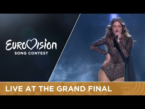 LIVE - Iveta Mukuchyan - LoveWave (Armenia) at the Grand Final - Eurovision Song Contest