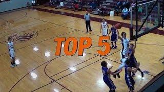 Hudl Top 5 High School Basketball Plays: Week 9 - 2016 thumbnail