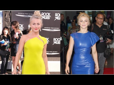 julianne hough fashion rock of ages style fab flash