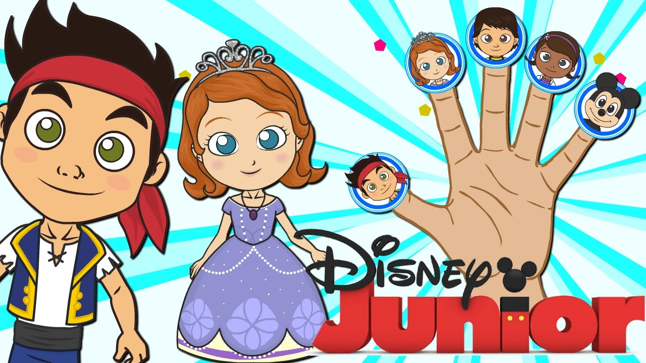 Disney Junior Familia Dedo Canciones Infantiles Dibujos