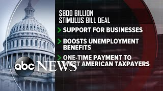 Gambar cover Lawmakers announce deal for $2 Trillion stimulus package l ABC News