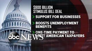 Lawmakers announce deal for $2 Trillion stimulus package l ABC News