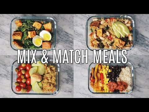 Meal Prep: 15 Ingredients for Flexible Recipes