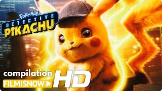 POKÉMON Movie (2019) | All the Best Clips, Trailers & B-Roll with Detective Pikachu