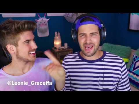 Singing with noise cancelling headphones || Joey Graceffa vs Daniel Preda