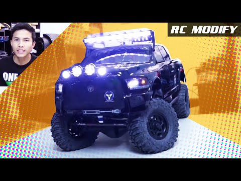 RC Modify 16   Axial SCX10 Ram Power Wagon 4x4 [English]
