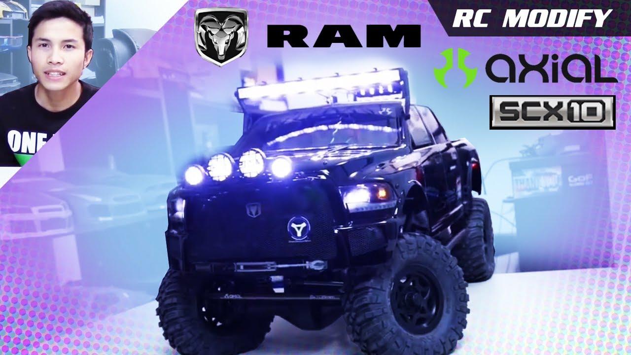 RC Modify 16 | Axial SCX10 Ram Power Wagon 4x4 [English ...