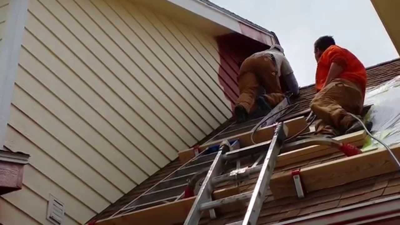 Pitched Roof Painting In Severance Co Youtube