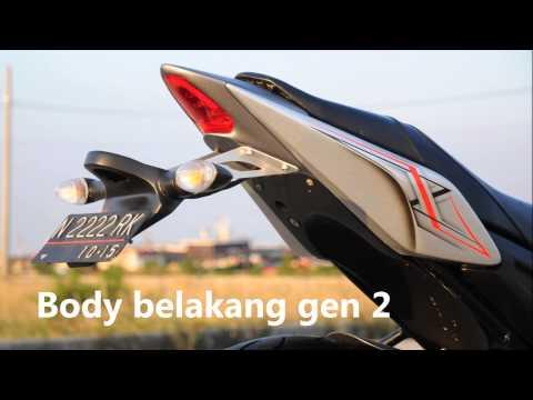 modifikasi byson custom body kit terbaru