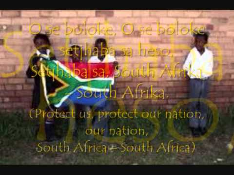 The South African National Anthem (Nkosi Sikelel' iAfrika) - With lyrics