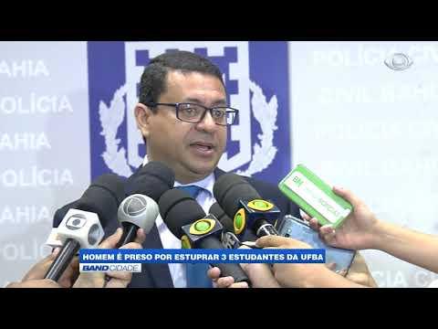 Homem é preso por estuprar 3 estudantes na UFBA