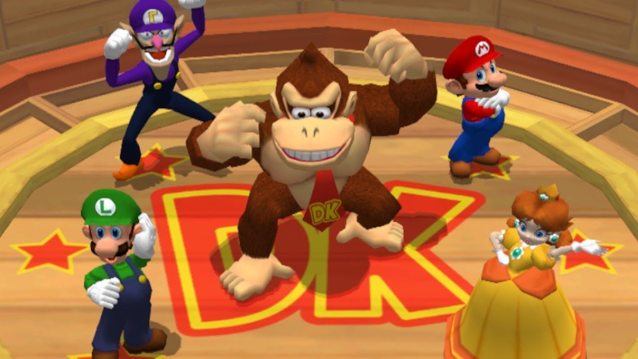 Mario Party 7 All Dk Minigames Youtube