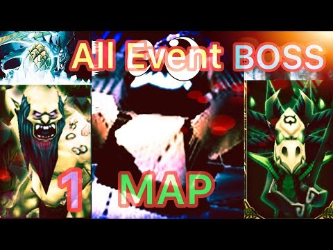 All Events Boss In 1 Map!!! | Arcane Legends