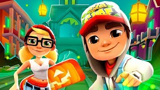 SUBWAY SURFERS GAMEPLAY HD 🎃 NEW ORLEANS - HALOWEEN 2018 ✔ JAKE AND TRICKY+50 MYSTERY BOXES OPENING