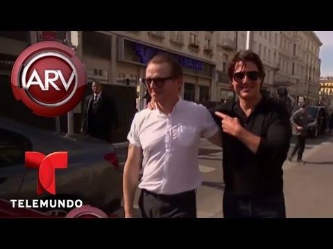 Al Rojo Vivo   Tom Cruise estrena la película Misión Imposible 5   Telemundo ARV