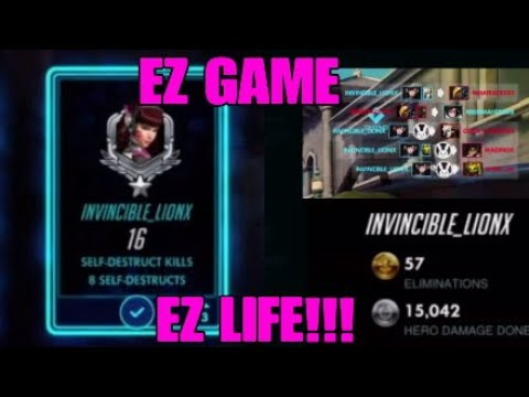 How to carry with dva   16 self distruct kills!!!