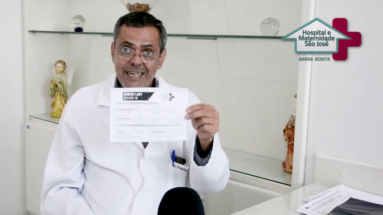 Novos procedimentos na entrada do Hospital 