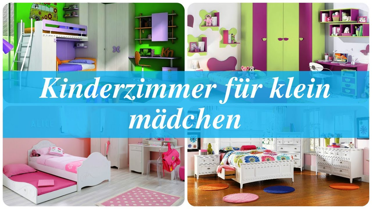 kinderzimmer f r klein m dchen youtube. Black Bedroom Furniture Sets. Home Design Ideas