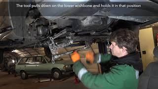 Replacing a front wheel bearing - 2001 Citroen Xsara
