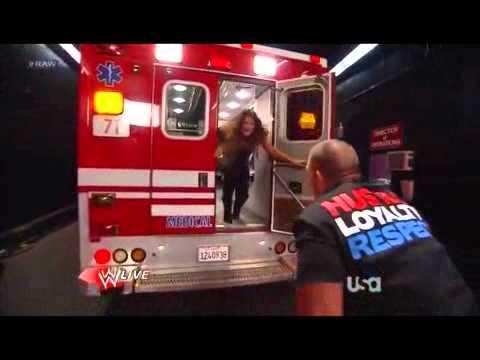WWE Raw 21312 Kane attack Eve Eve kiss John Cena