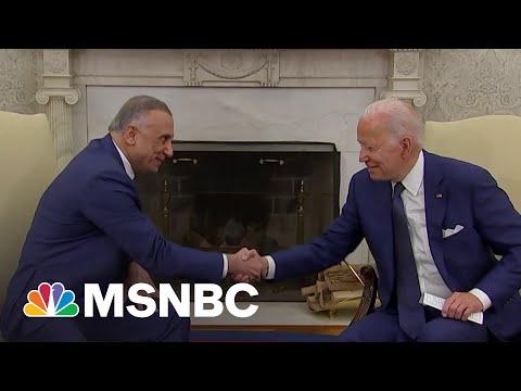 Biden Announces End Of U.S. Combat Mission In Iraq