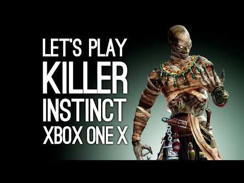 Killer Instinct Xbox One X Gameplay: Let's Play Killer Instinct on Xbox One X Enhanced Version