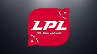 SDG vs IG Week 5 Game 1 | LPL Spring Split | LPL Clean Feed (2019)