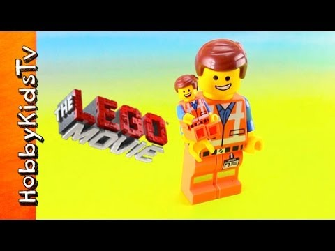 The LEGO Movie Emmet Pen [Box Open] [Toy Review] [MiniFigure]
