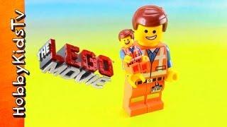 The LEGO Movie Emmet Pen Review HobbyKidsTV thumbnail