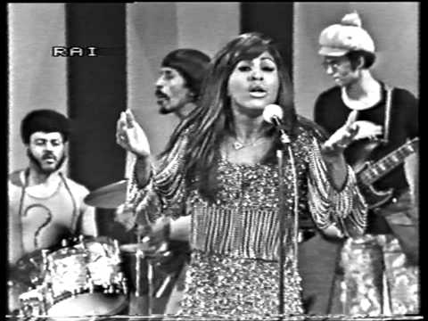 Ike & Tina Turner  Proud Mary live on Italian TV 1971
