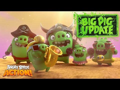 Angry Birds Action! - Big Pig Update Feat. De La Soul