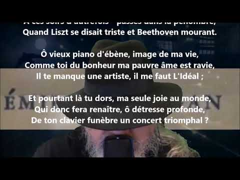 Vieux piano - Émile Nelligan lu par Yvon Jean