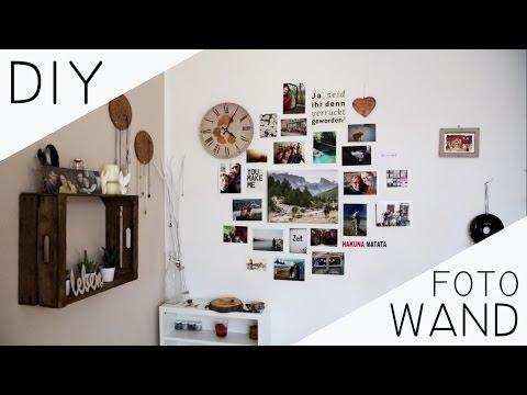 DIY Fotowand - harmonisch anordnen, richtig zusammenstellen, stimmiges Gesamtkunstwerk