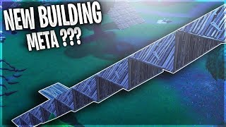 NEW BUILDING META? New pyramid Wall Pushing Strategy, Fortnite battle royale