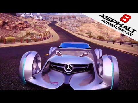 ASPHALT 8   Mercedes-Benz Silver Lightning (iOS/iPad Gameplay) Dragon Tree   Asphalt 8: Airborne