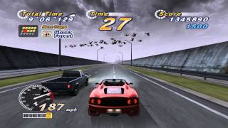 OutRun 2006: Coast 2 Coast - OutRun2 15 Stage Continuous PC Gameplay 1440p