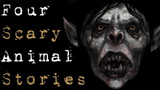 Download Video 4 SCARY TRUE ANIMAL HORROR STORIES (Collaboration with Lazy Masquerade and Dr Horror) MP3 3GP MP4