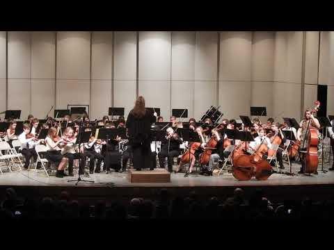 """A Rockin' Ol' St. Nick"" Norfolk Middle School 6th grade Orchestra 2017"