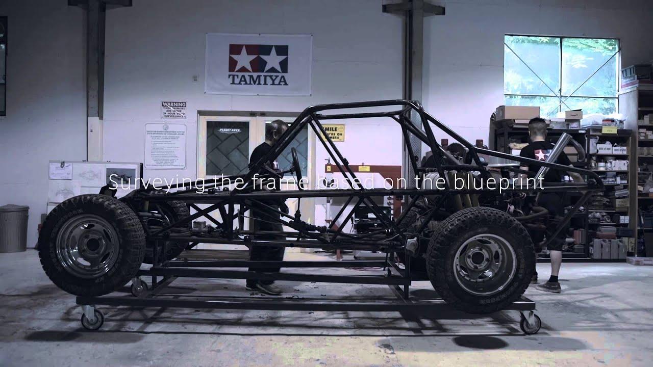 """画像: #01 シャーシ基盤篇 """"Chassis Basis""""1/1 ミニ四駆実車化プロジェクト www.youtube.com"""