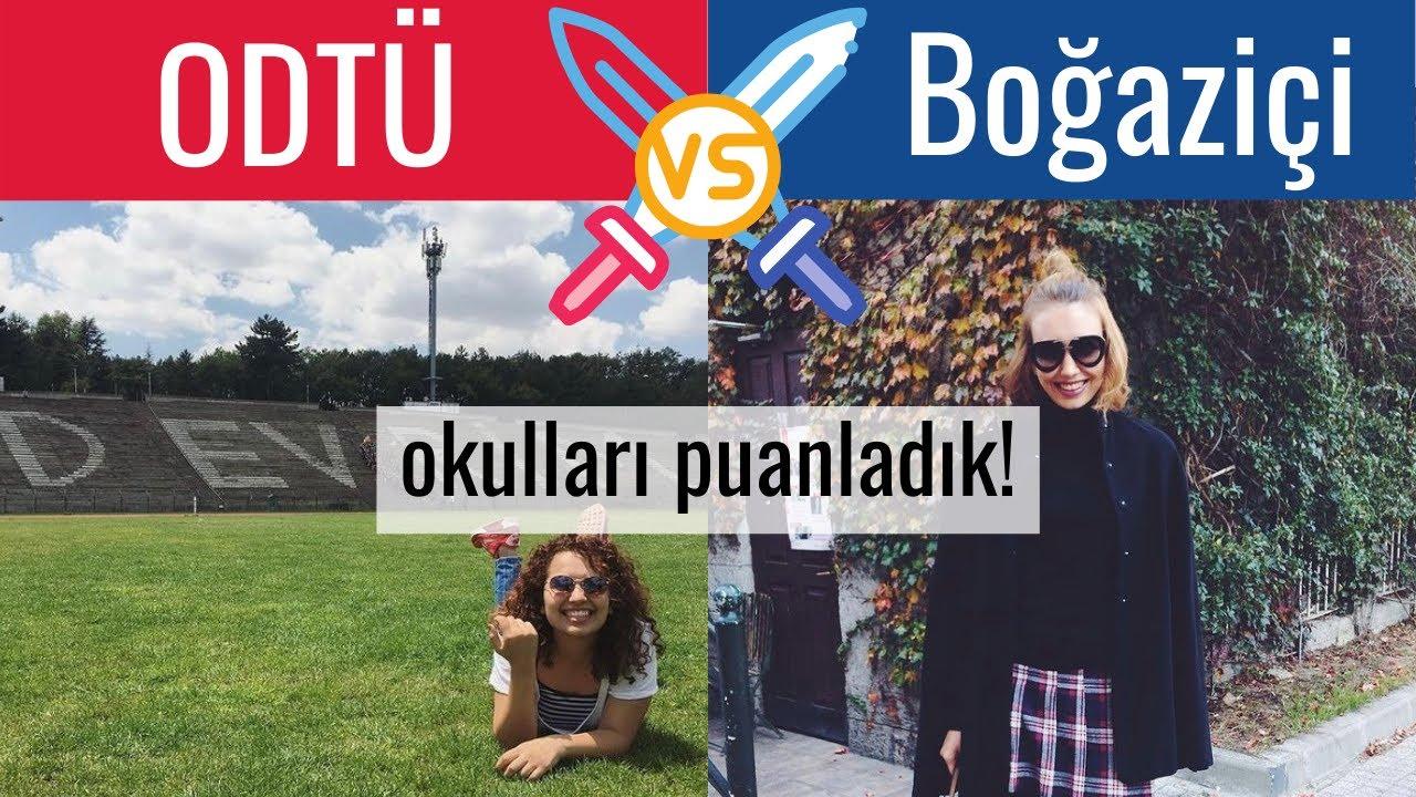 ODTÜ ve Boğaziçi Üniversitesi'ni 10 kategoride puanladık: sizce hangisi kazanır?