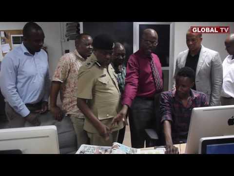 Kamanda Mpinga Afundishwa Upaparazi, Aungana na Global Publishers