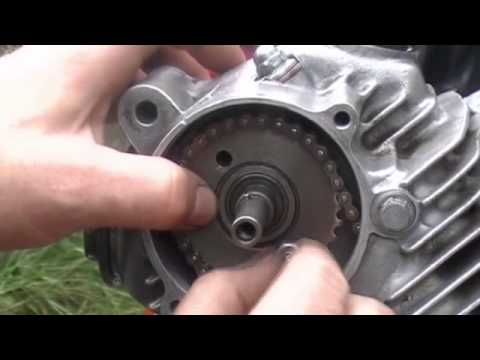 Installing - Rings, Piston, Cylinder  Timing Motorcycle Engine