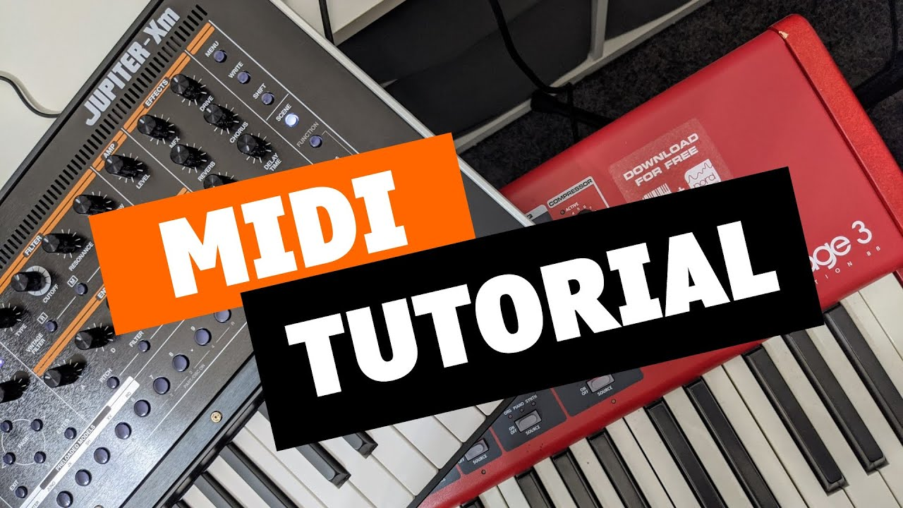 Roland Jupiter X & Xm External MIDI Keyboard Tutorial | Bonners Music