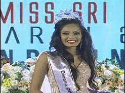 Shyama Dahanayake takes Derana Offmarks Miss Sri Lanka 2017 crown (English)
