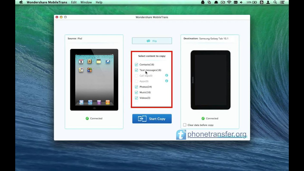How to Sync Samsung Galaxy Tab with iTunes recommendations