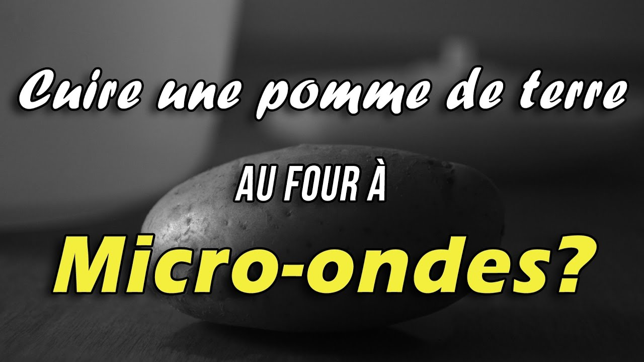 tutoriel cuire des pommes de terre au micro ondes youtube. Black Bedroom Furniture Sets. Home Design Ideas
