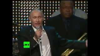 Путин поет на кыргызском - Putin sings in Kyrgyz